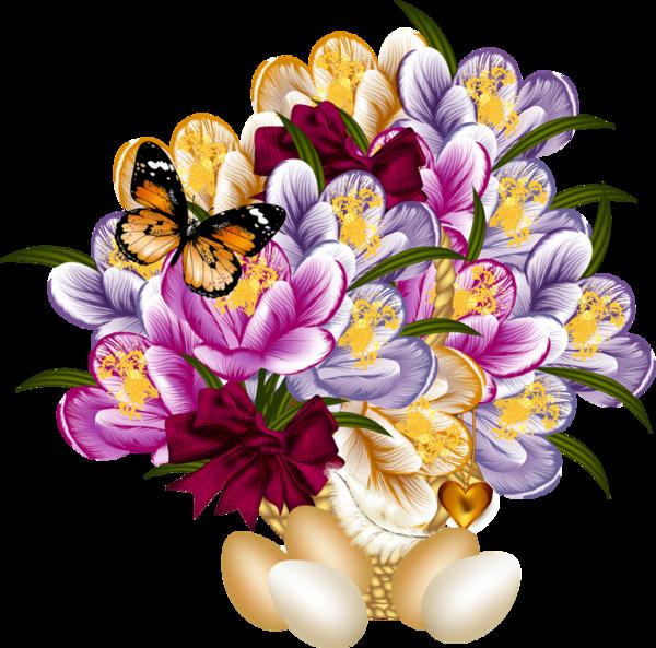 Çiçekler arkafon silinmiş güzel yeni karışık çiçekler
