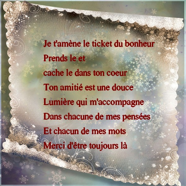Amitie Citations