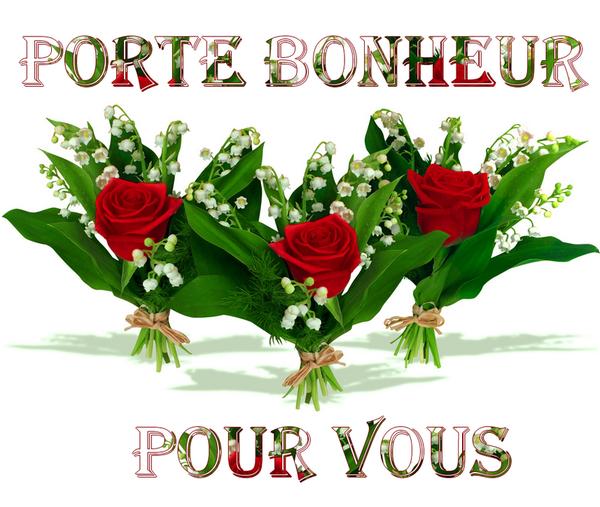 Muguet Porte Bonheur 1er Mai