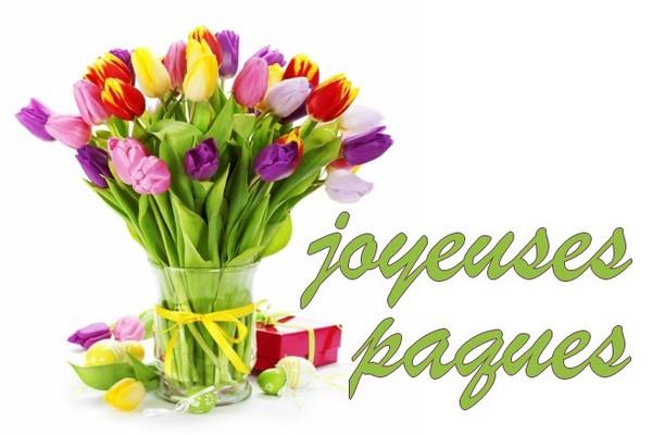 Joyeuses paques crea bouquet de fleurs joyeuse paques - Joyeuses paques images ...