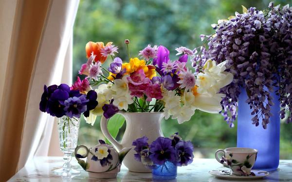 fond d ecran ,flowers,bouquets,fleurs