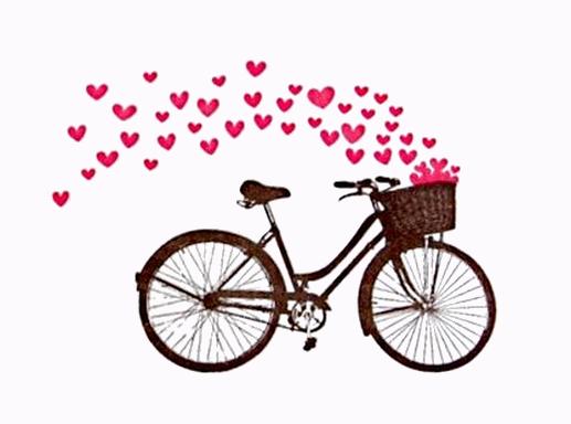 Résultat d'images pour Gifs jeune femme balade à vélo