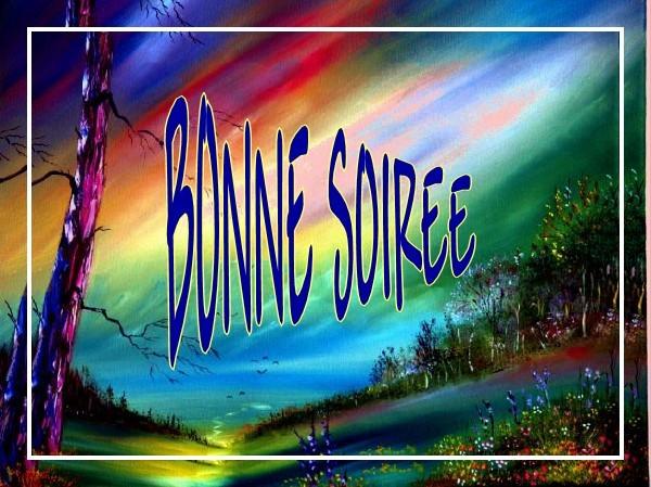 BONNE SOIREE