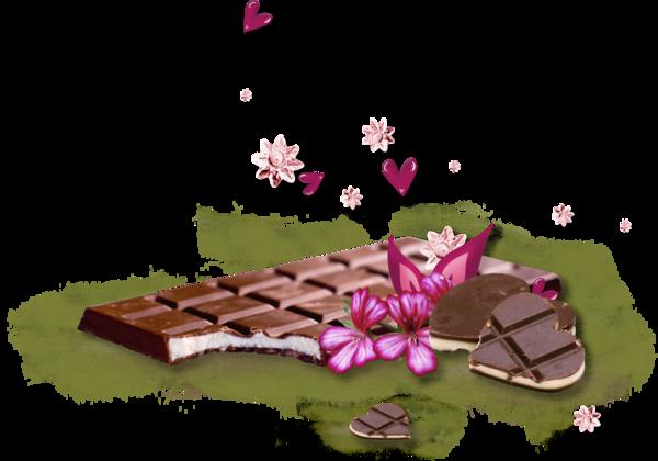 tubes chocolats
