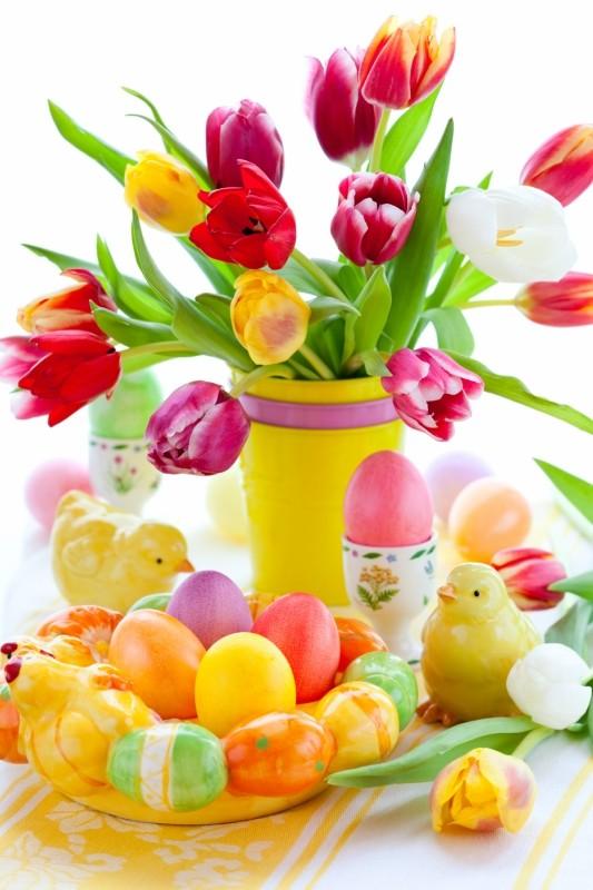 Belles Images De Paques Bouquets De Fleurs