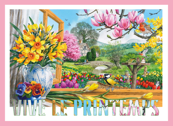 C 39 est le printemps pause caf assistante maternelle for Images du printemps gratuites