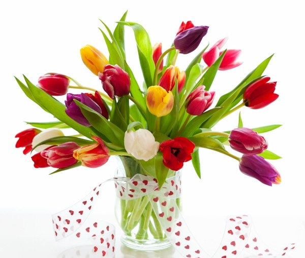 Tulipes bouquets de fleurs for Bouquet de tulipes