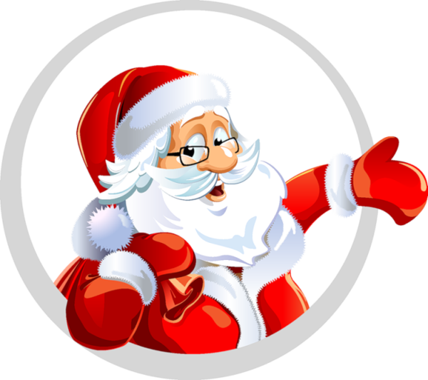 touching hearts santa claus tube png. Black Bedroom Furniture Sets. Home Design Ideas