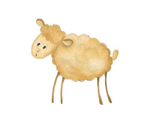 سكرابز خروف العيد للتصميم,خروف العيد بخلفية شفافة,خرفان عيد الاضحى,خروف العيد كرتون