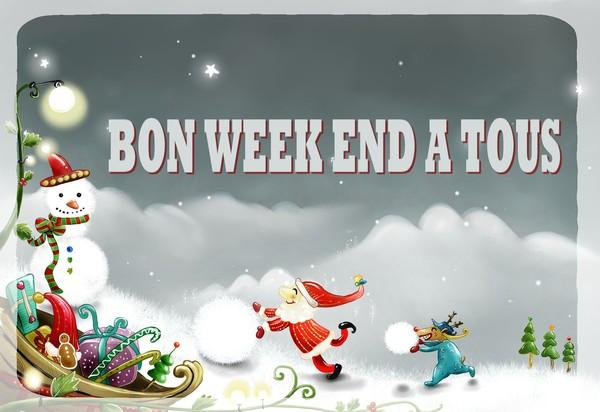 image, bisous, bon week end belles images,