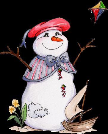 bonhomme de neige,tube,png