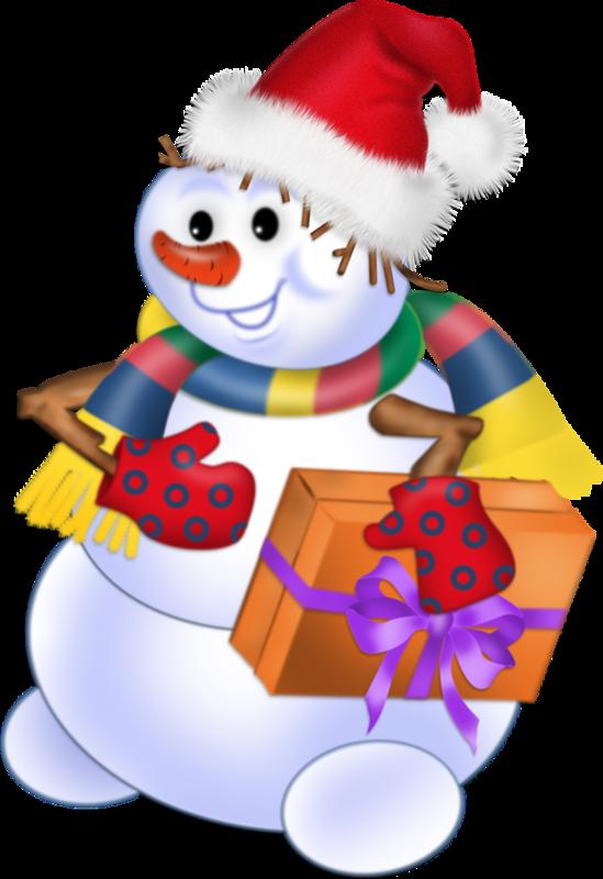 Noel bonhommes de neige page 25 - Bonhomme de neige en pompon ...