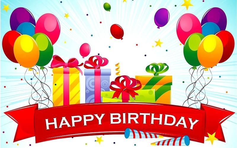 Joyeux Anniversaire Happy Birthday