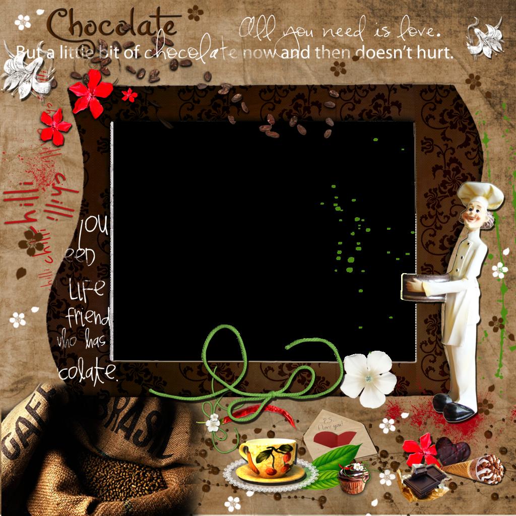 Cadres et bordures page 2 - Cadre photo cuisine ...