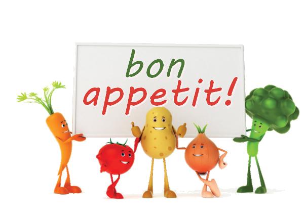 Bon Appetit Restaurant Menu