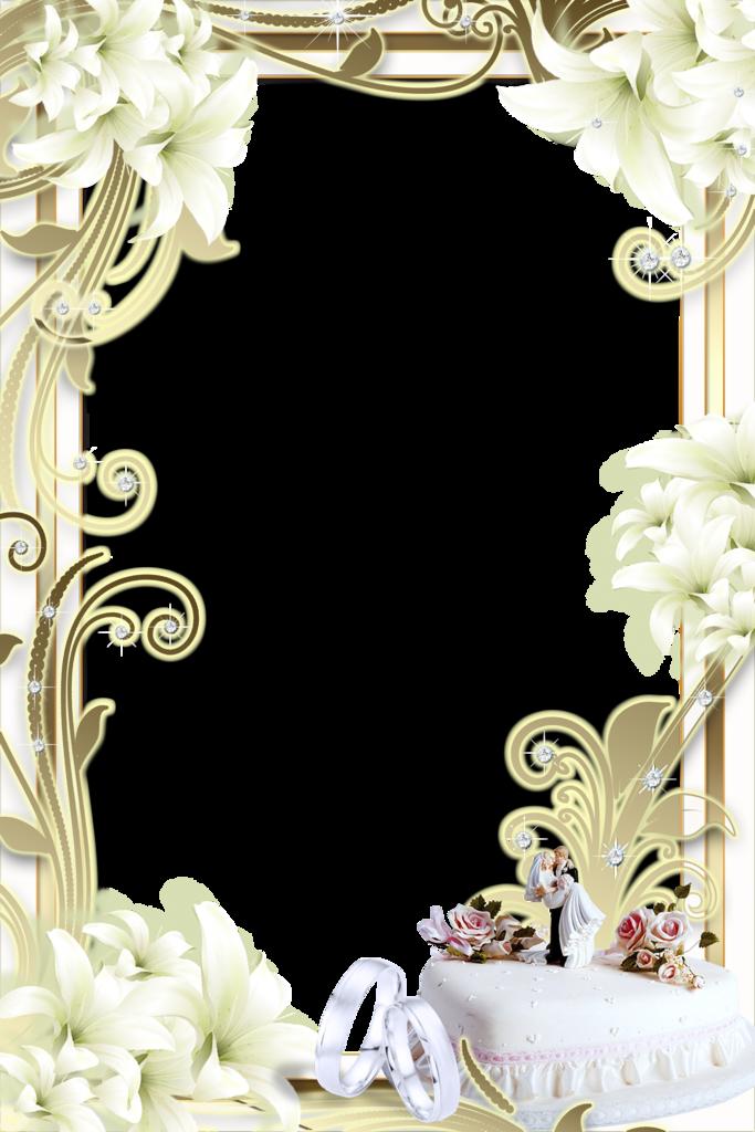 Cadres et bordures page 231 - Marcos de plata para bodas ...