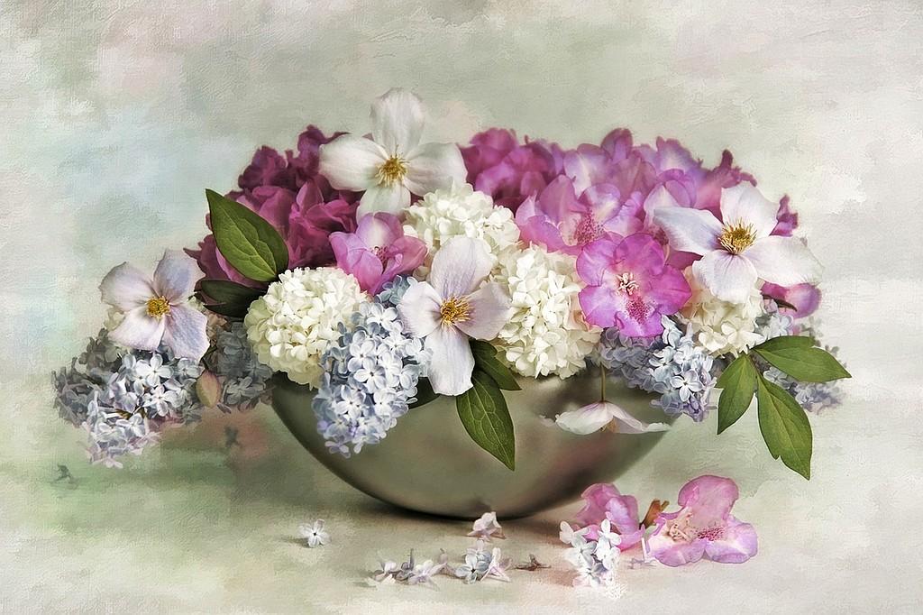 Fond D Ecran Bouquets Fleurs Flowers Wallpapers