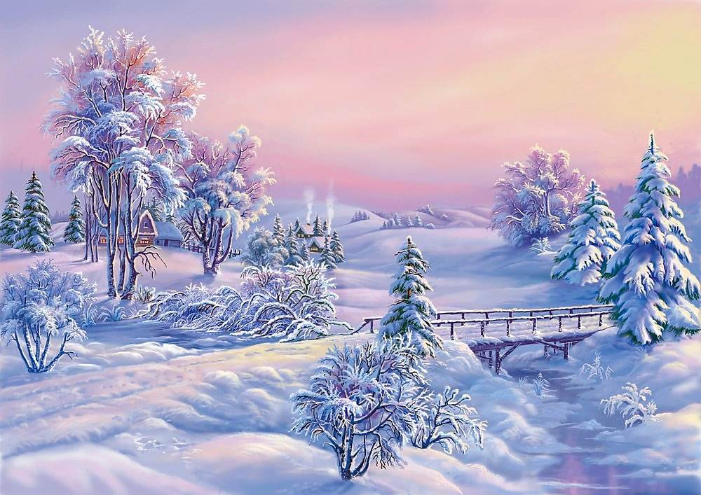 Hiver Snow Paysage Winter Wallpapers Fond D Ecran