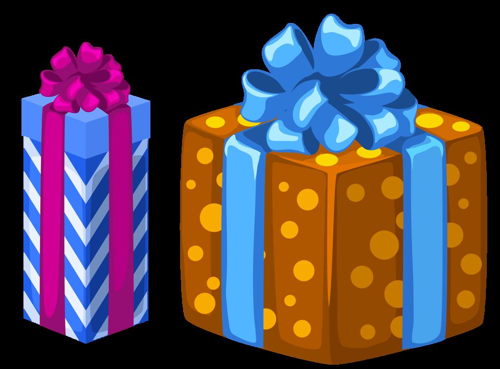 Boîte De Cadeau Le Jour De Noël Clip Art: Boites Cadeaux